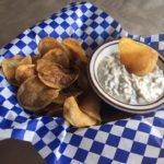 house made chips and dip